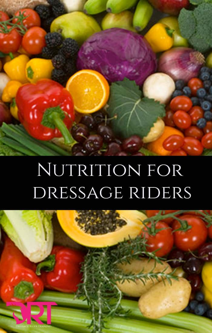 Nutrition For Dressage Riders