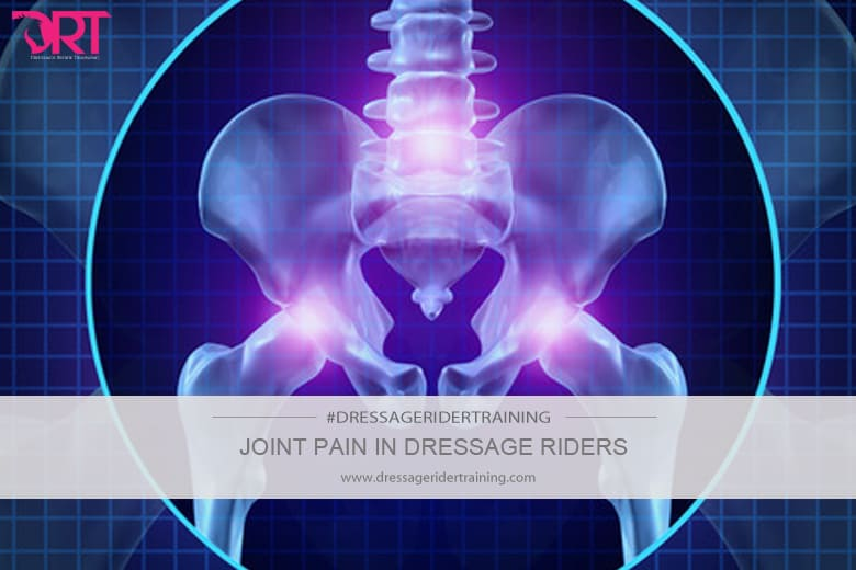Joint pain in dressage riders