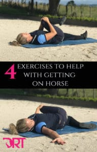 4 exercises to help with getting on horse